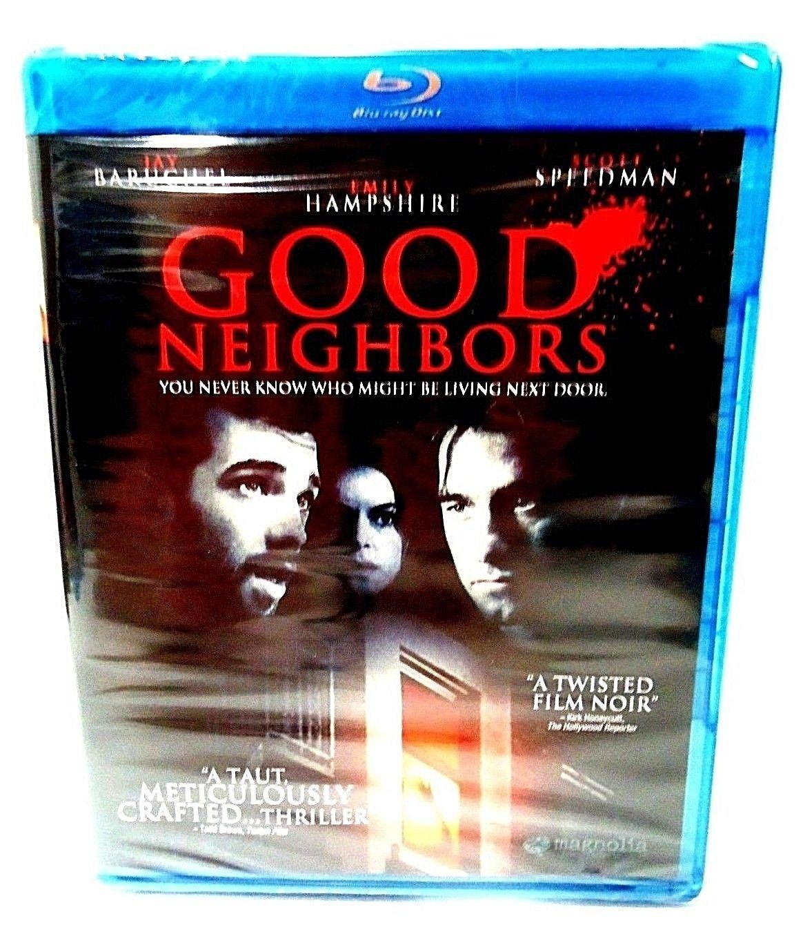 GOOD NEIGHBORS - BLU-RAY - DVD - SCOTT SPEEDMAN - NEW - CRIME - THRILLER - MOVIE