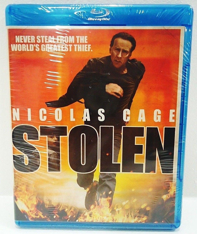 STOLEN - DVD - BLU-RAY - NICOLAS CAGE - BRAND NEW - SEALED - ACTION - MOVIE