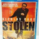 STOLEN - DVD - BLU-RAY - NICOLAS CAGE - BRAND NEW - SEALED - ACTION - MOVIE