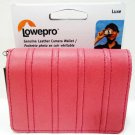 LOWEPRO - UNIVERSAL - PINK - LEATHER - CAMERA - WALLET - WRISTLET - NEW - SONY