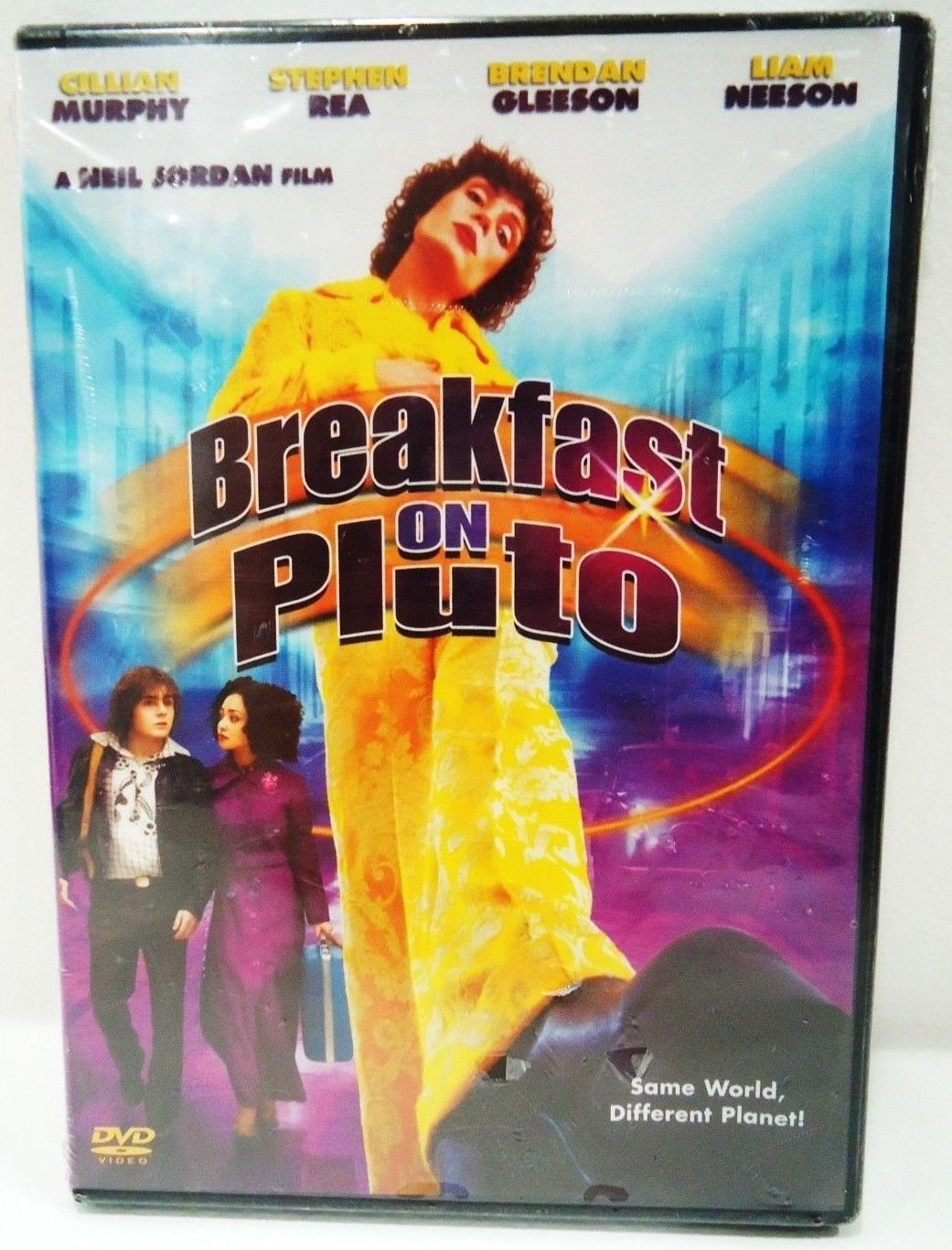 BREAKFAST ON PLUTO - DVD - LIAM NEESON - CILLIAN MURPHY - NEW - DRAMA - MOVIE