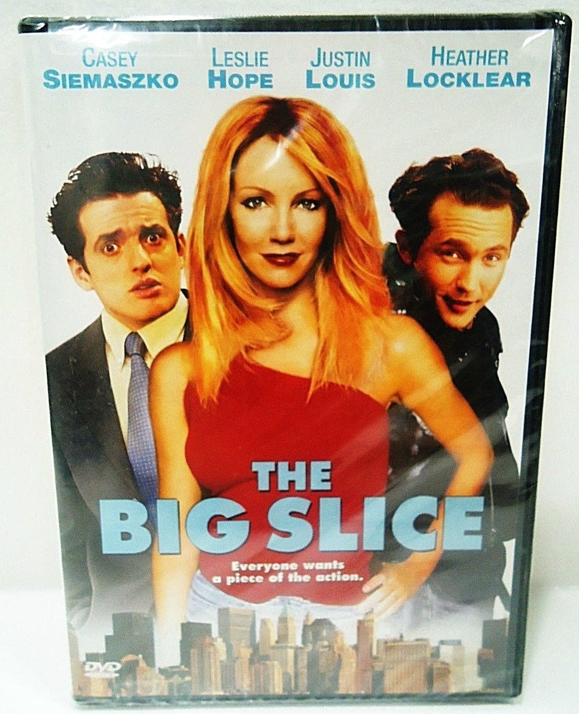 THE BIG SLICE - DVD - HEATHER LOCKLEAR - BRAND NEW - COMEDY - ACTION - MOVIE