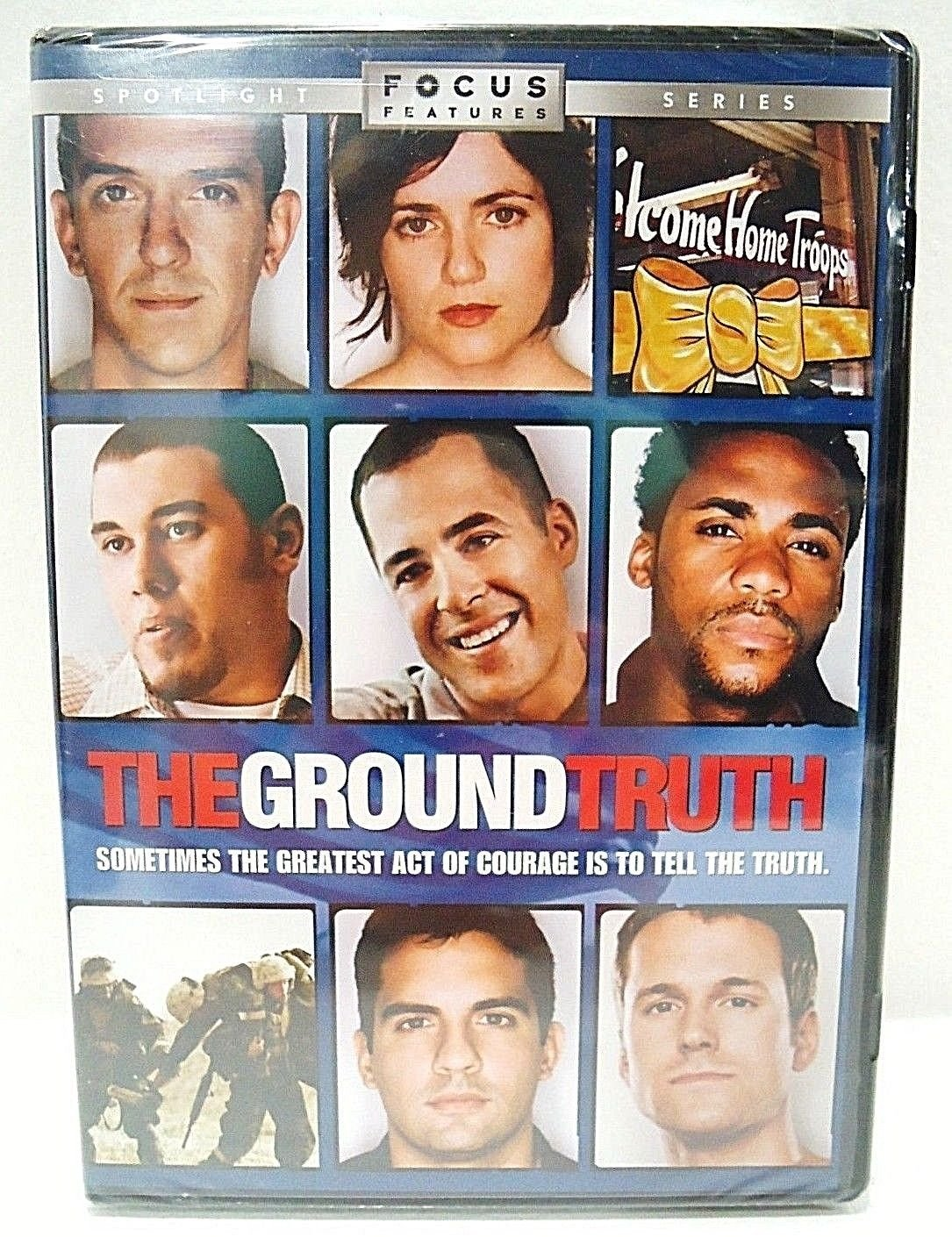 THE GROUND TRUTH - DVD - NEW - IRAQ - WAR - VETERAN - SOLDIER - MILITARY - MOVIE