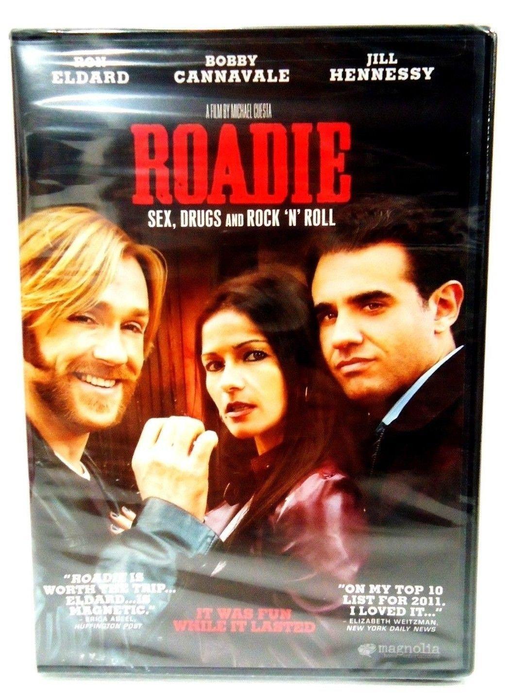 ROADIE - DVD - RON ELDARD - JILL HENNESSY - NEW - ROCK & ROLL - MUSIC - MOVIE