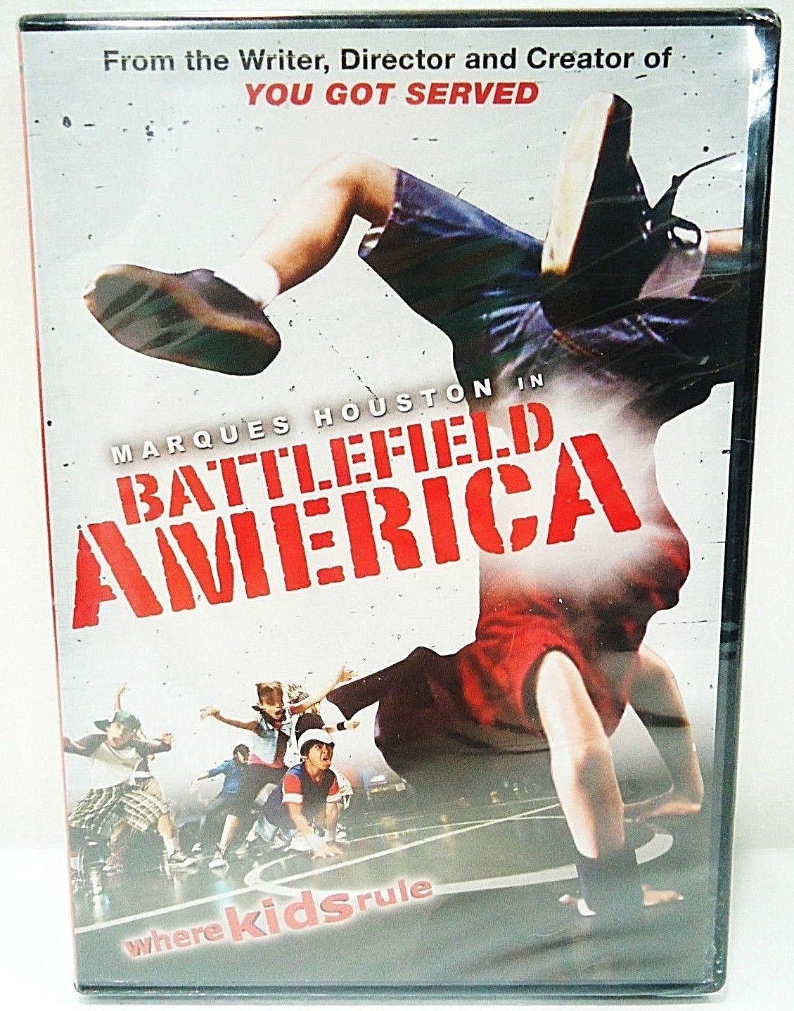 BATTLEFIELD AMERICA - DVD - MARQUES HOUSTON - HIP HOP - YOU GOT SERVED - NEW