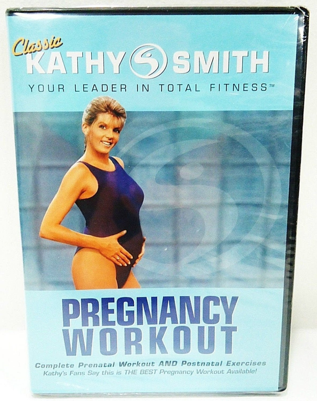 PREGNANCY WORKOUT - DVD - KATHY SMITH - PRENATAL - POSTNATAL - EXERCISE - NEW