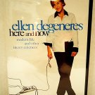 ELLEN DeGENERES - HERE AND NOW - DVD - HBO - FILMS - BRAND NEW - COMEDY - MOVIE
