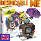 MEGA BLOKS - MINIONS - DESPICABLE ME - MOVIE - SILLY TV - 37 PCS. - NEW - LEGO