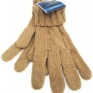 WEST LOOP - WOMEN'S - KHAKI - TAN - CABLE - KNIT - WINTER - GLOVES - BRAND NEW