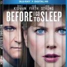 BEFORE I GO TO SLEEP - BLU-RAY - DVD - NICOLE KIDMAN - BRAND NEW - HORROR - FILM