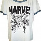 MARVEL - COMICS - RETRO - AVENGERS - GRAY - T-SHIRT - LARGE - 11/13 - BRAND NEW