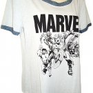 MARVEL - COMICS - RETRO - AVENGERS - GRAY - T-SHIRT - XL - 15/17 - BRAND NEW