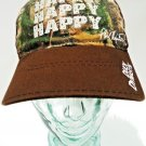 DUCK DYNASTY - REAL TREE - XTRA - BROWN - CAMO - HAPPY - BASEBALL - CAP - NEW