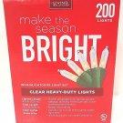 LIVING SOLUTIONS - 200 - CLEAR - INDOOR - OUTDOOR - HEAVY - DUTY - LIGHT - SET