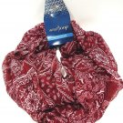 WEST LOOP - WOMEN'S - FLORAL - BURGUNDY - WHITE - INFINITY - SCARF - BRAND NEW