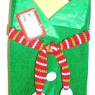 HOME ELEMENTS - GREEN - WINE - BOTTLE - HOLIDAY - CHRISTMAS - BAG - BRAND NEW