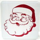 HALLMARK - RETRO - SANTA - CHRISTMAS - CAKE - COOKIE - BAKING - TIN - BOX - NEW