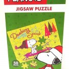 PEANUTS - SNOOPY - CHARLIE BROWN - CHRISTMAS - 50 PIECES - JIGSAW - PUZZLE - NEW