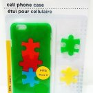 APPLE - iPHONE - 6 - GREEN - JIGSAW - PUZZLE - CELL PHONE - HARD - CASE - NEW