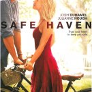 SAFE HAVEN - BLU-RAY - DVD - JOSH DUHAMEL - THE NOTEBOOK - ROMANCE - MOVIE - NEW