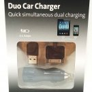 KENSINGTON - POWERBOLT - iPHONE - iPOD - iPAD - DUO - CAR - CHARGER - BRAND NEW