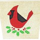 HALLMARK - RUSTIC - VINTAGE - CHRISTMAS - BIRD - BURLAP - WOOD - SIGN - NEW