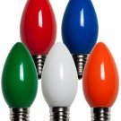 LIVING SOLUTIONS - 4 PK - C9 - MULTI-COLOR - REPLACEMENT - CHRISTMAS - BULBS