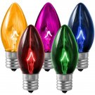 LIVING SOLUTIONS - 4 PK - C9 - MULTI-COLOR - COOL - BURN - REPLACEMENT - BULBS