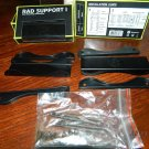 Bitspower Rad Support I 120mm Radiator Mounting Bracket - Pair (Rad Support I)