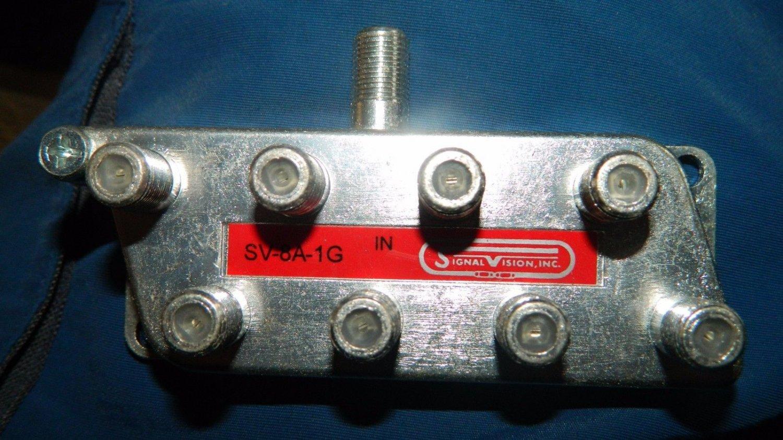 Signal Vision Inc SV8A1G 8-WAY SPLITTER