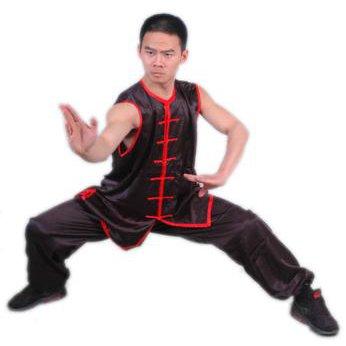 5.1.2.160 Black nan quan sleeveless uniform