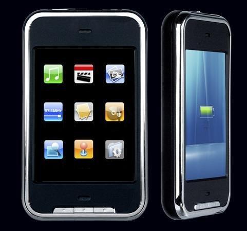 New Onda Touch-screen/ Audio/ Video/ FM Tuner MP3 / MP4 Player (2GB)