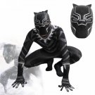Black Panther Cosplay Costume With Mask Helmet New 2018 Marvel Superhero Movie for Adult
