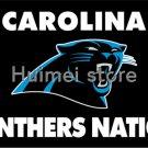 Carolina Panthers Flag Helmet 3' x 5' Banner metal holes Flag PANTHERS NATION BANNER
