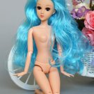 New Design Nude Naked doll Toy / 3D eyes / Real Eyelash / Joint Movable /Long Hair to Floor