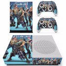 Game Fortnite Battle Royale Skin Sticker Decal For Microsoft Xbox One S Console and 2 Controllers