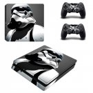 Star Wars Darth Vader PS4 Slim Skin Sticker For Sony PlayStation 4 Console and Controller