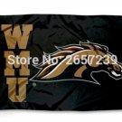Western Michigan Broncos WMU Flag 3x5FT NCAA banner 100D 150X90CM Polyester
