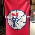 Philadelphia 76ers Flag 3x5FT NBA banner 100D 150X90CM Polyester
