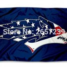 Nevada Wolfpack USA Flag Patriotic College Flag 3x5FT banner 100D 150X90CM Polyester
