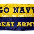 US Navy Shipmen Naval University Flag 3x5FT NCAA banner 100D 150X90CM Polyester