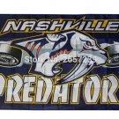 Nashville Predator logo wordmark Flag 3x5FT NHL Team banner150X90CM 100D Polyester
