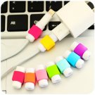 20 Pieces USB Cable Protector Sleeve D2 Mobile Phone Charger Cord Protector Silicone For IPhone