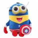 20CM Plush Doll Toys Superman Batman Spider Man Captain America Cosplay Plush Toy
