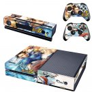 Street Fighter: CHUN LI Console and Controller Skin Set - TV Show Adventure Comic - For Xbox One