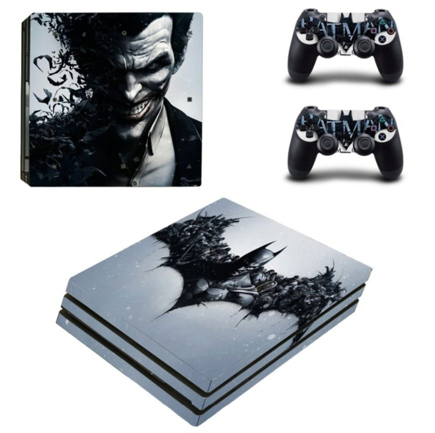 Video Games Batman Vinyl skin sticker for Sony PlayStation