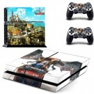 The Witcher 3:Blood And Wine Ps4 Skins for Sony Playstation 4 Stickers Protective