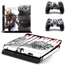 The Witcher 3 Vinyl Skin Sticker Cover for Sony PS4 PlayStation 4 and 2 controller skins