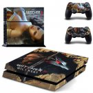 Witcher 3 Vinyl Skin Sticker Cover for Sony PS4 PlayStation 4 and 2 controller skins