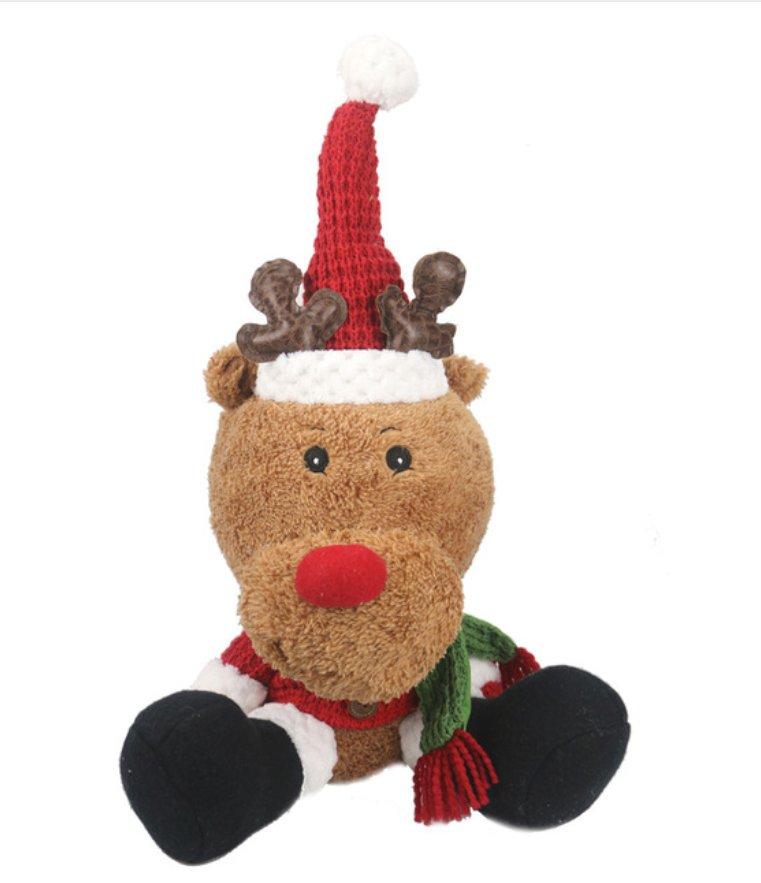 Christmas santa dolls stuffed animal plush kawaii christmas elk ...